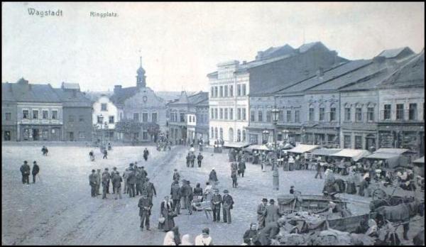 Bílovec - náměstí